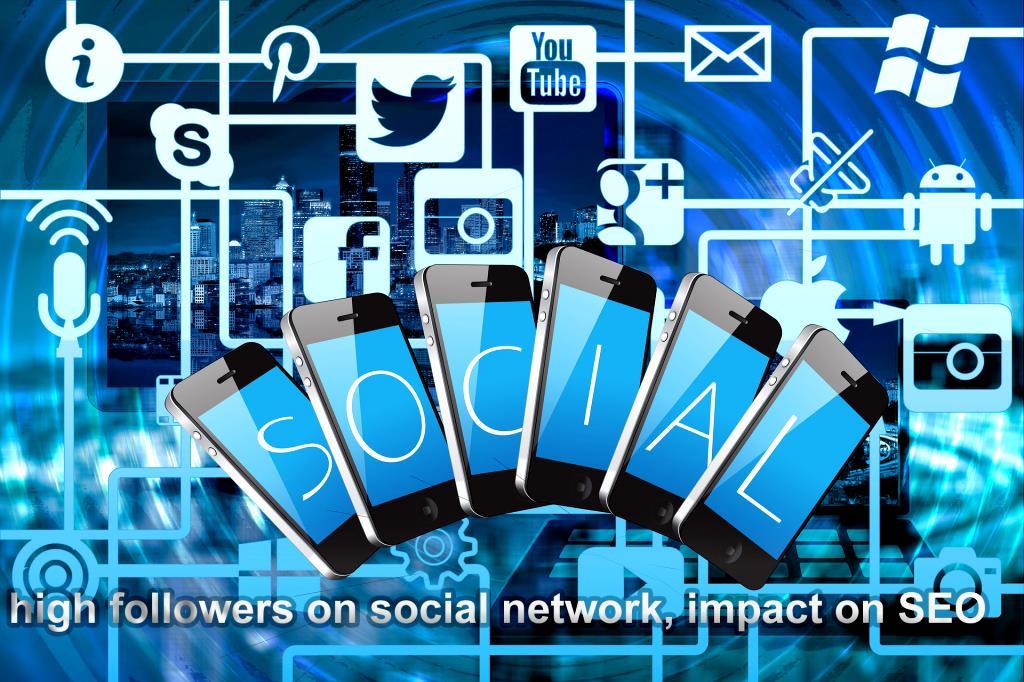 Does having high followers on social network, impact on SEO?